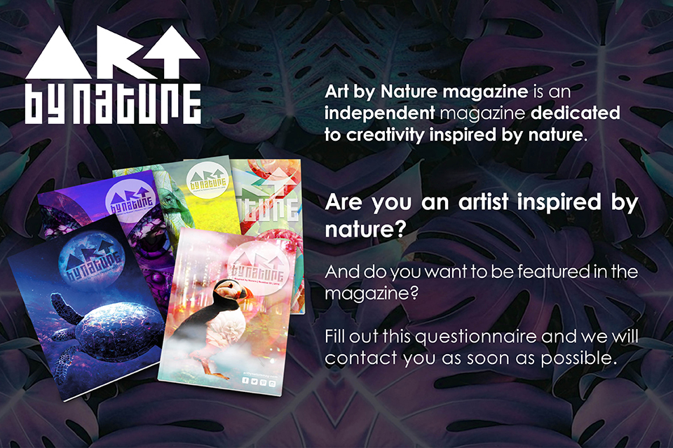 Signup Art By Nature Magazine